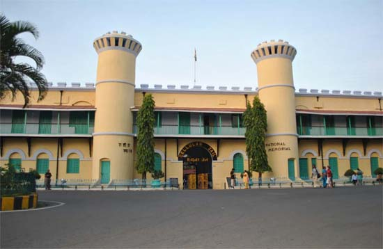 Andaman Lagoons - Popuplar Destination, City Tour, Place to Visit or Sightseeing - Cellular Jail (Sound and Light Show) at Port Blair in Andaman Islands