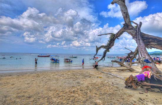 Andaman Lagoons - Popuplar Destination, Place to Visit or Sightseeing - Elephant Beach (Trekking, Snorkeling, Underwater Sea Walk, Jet Ski Ride, Banana Ride, Sofa Ride, Glass Bottom Boat Ride) at Havelock Island in Andaman Islands