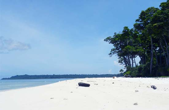 Andaman Lagoons - Popuplar Destination, Place to Visit or Sightseeing - Laxmanpur Beach (Sunset Point) at Neil Island in Andaman Islands