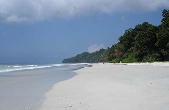 Andaman Lagoons - Popuplar Destination, Place to Visit or Sightseeing - Radhanagar Beach (ranked among Asia's Top 10 beaches, Sunrise Point, Sunset Point) at Havelock Island in Andaman Islands