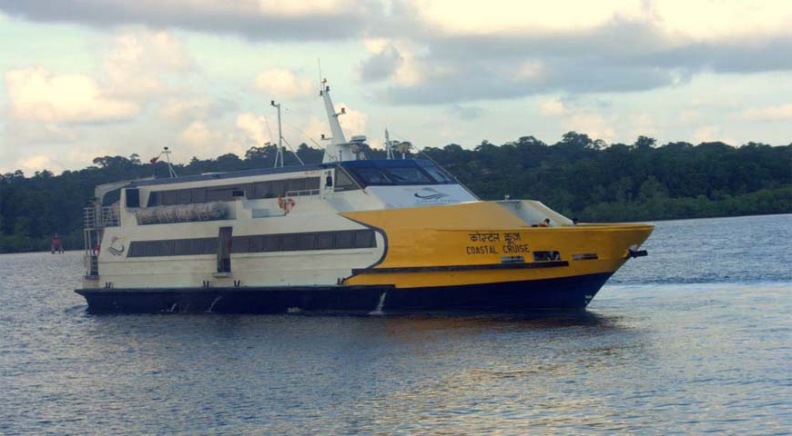 Andaman Lagoons - Private Ferry Services for Port Blair, Havelock Island, Neil Island in Andaman Islands - Coastal Cruise (a High Speed Luxury Private Catamaran Passenger Ferry)