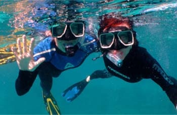 Andaman Lagoons - Popular Water Sports Activity or Adventure Activity Snorkeling at North Bay or Coral Island, Mahatma Gandhi Marine National Park Wandoor (Jolly Buoy Island, Red Skin Island) at Port Blair, Elephant Beach at Havelock Island, Bharatpur Beach at Neil Island in Andaman Islands