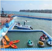 Andaman Lagoons - Popuplar Destination, Place to Visit or Sightseeing - Rajiv Gandhi Water Sports Complex or Andaman Water Sports Complex at Port Blair in Andaman Islands